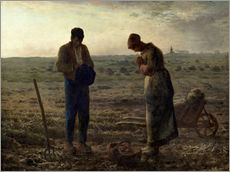 Wall sticker  The Angelus - Jean-François Millet
