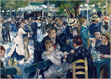 Wall sticker  Ball at the Moulin de la Galette - Pierre-Auguste Renoir