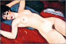 Amedeo Modigliani - Sleeping Nude