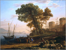 Gallery print  An artist studies nature - Claude Lorrain