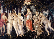 Gallery print  The Spring - Sandro Botticelli