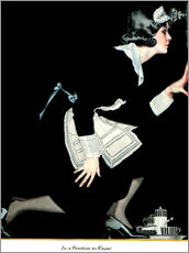 Wall sticker  in a position to know - Clarence Coles Phillips