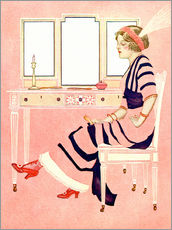 Gallery print  fit and fine valentine - Clarence Coles Phillips