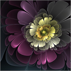 Gallery print  Fractal Floral Beauty - gabiw Art
