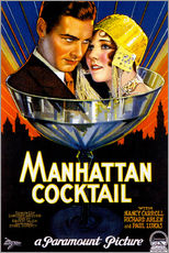 Wall sticker  Manhattan Cocktail - Advertising Collection