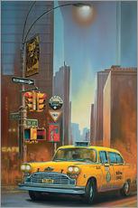 Wall sticker Yellow Cab