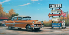 Gallery Print  Motel Route 66 - Georg Huber