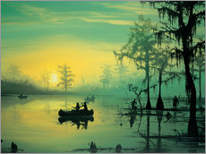 Gallery print  Mississippi Sunrise - Georg Huber