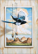 Wall sticker  FREE BIRD - Georg Huber