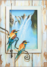 Gallery print  BIRDS OF IMAGINATION - Georg Huber