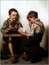 Wall sticker  Bluffing - John George Brown