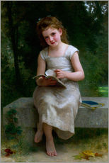 Gallery print  The Reader - William Adolphe Bouguereau