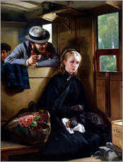 Gallery Print  The Irritating Gentleman - Berthold Woltze