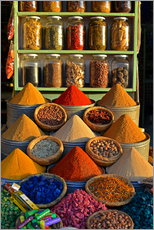Wall sticker  Spices from Morocco - HADYPHOTO