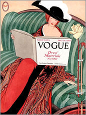 Wall sticker  Vintage Vogue - Advertising Collection