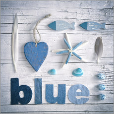 Wall sticker  Blue Sea - Andrea Haase