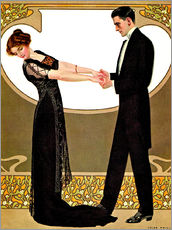 Wall Sticker  The rendezvous - Clarence Coles Phillips