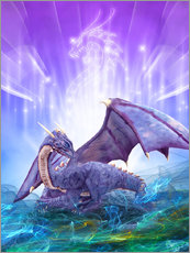 Gallery print  Dragon Energy - Dolphins DreamDesign