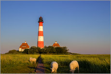 Wall sticker  Lighthouse at Westerhever - Dennis Stracke