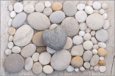 Wall sticker  Stone Hearts - Andrea Haase Foto