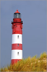 Gallery print  red Lighthouse - Sarnade