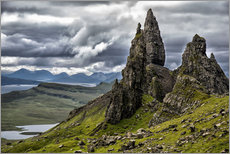 Wall sticker  Old Man of Storr, Isle of Skye, Scotland - Walter Quirtmair