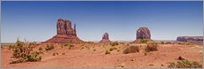 Wall sticker Monument Valley USA Panorama I