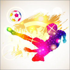 Wall sticker Soccer player