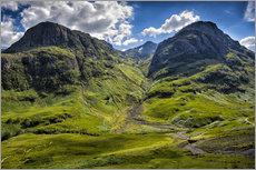 Gallery print  Three sisters, Scotland - Walter Quirtmair