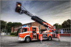 Wall sticker  Fire truck - Markus Will