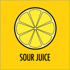 Wall sticker Sour Juice
