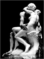 Gallery print  The Kiss - Auguste Rodin