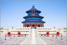 Gallery print  Temple of Heaven in Beijing - Jan Christopher Becke