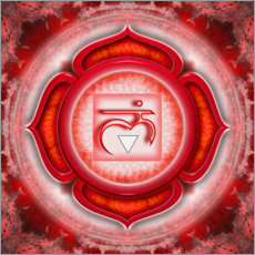 Wall sticker The Root Chakra Series V