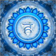 Wall sticker The Throat Chakra Series V