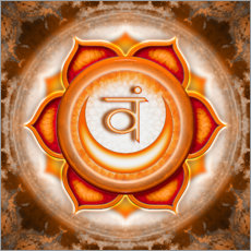 Wall sticker The Sakral Chakra Series V