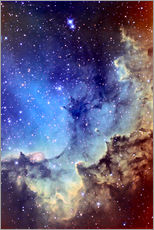 Wall sticker  NGC 7380 Emission Nebula in Cepheus - Ken Crawford