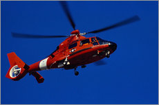 Wall sticker  Coast Guard helicopter - Stocktrek Images