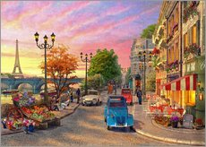 Wall Stickers  Seine Sunset - Dominic Davison