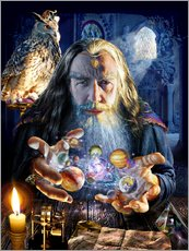 Gallery Print  The wizard's world - Adrian Chesterman