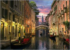 Wall sticker  Venice at dusk - Dominic Davison