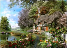 Wall sticker  Countryside Cottage - Dominic Davison