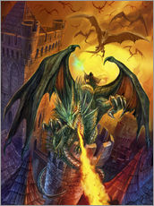Gallery print  Count Veldspar attack - Dragon Chronicles