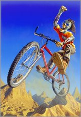 Wall sticker  Mountain bike - Extreme Zombies