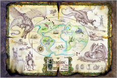 Gallery print  Dragons of the world - Dragon Chronicles