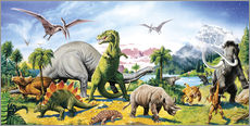 Gallery print  Land of the dinosaurs - Paul Simmons