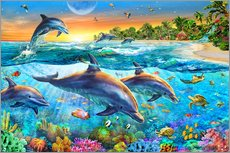 Gallery print  Dolphin bay - Adrian Chesterman