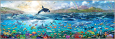 Wall Stickers  Ocean Panorama - Adrian Chesterman