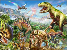 Gallery print  Dino Group - Adrian Chesterman