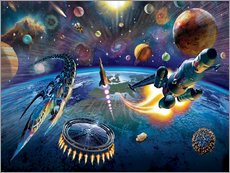 Gallery print  Outer Space - Adrian Chesterman